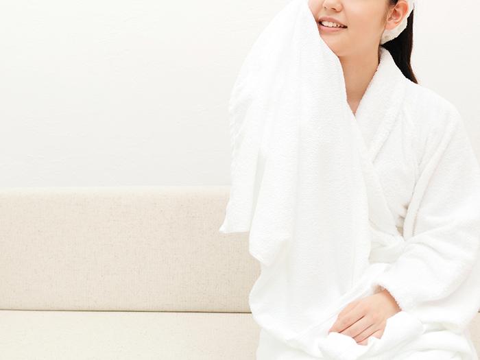 6.発汗(15分) 汗と一緒に、体に溜まった老廃物や脂肪を体外へ排出させます。